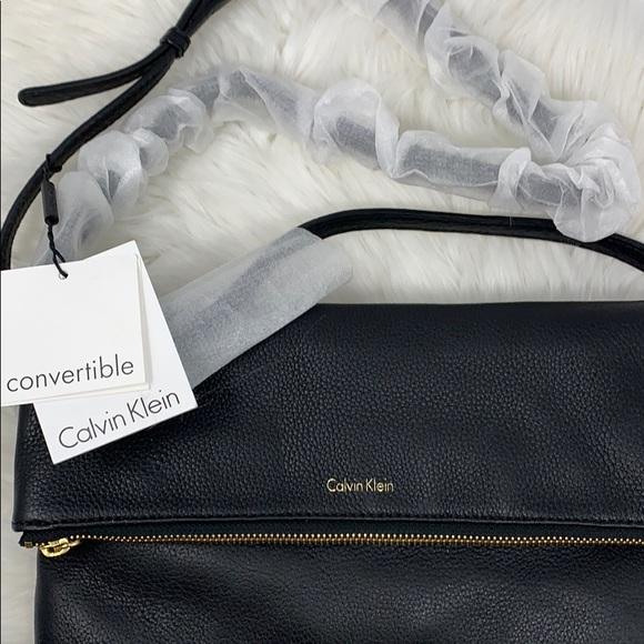Calvin Klein Handbags - Leather Calvin Klein Messenger Bag